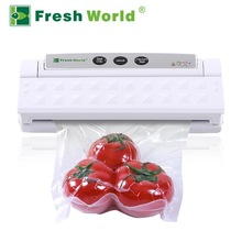 Automatic small vacuum food sealer packing machine, nozzle type Vacuum food sealer TVS-2013 with CE, RoHS certificate