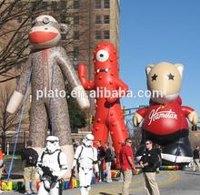 2015 New parade balloons,custom design cartoon characters,inflatable custom