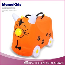 Non-toxic material travel suitacase 2015 hottest children cartoon luggage