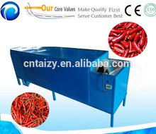 High capacity fresh/dry pepper/chili stem removing machine