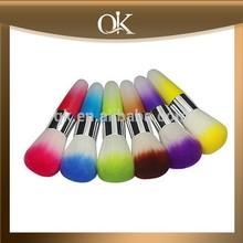 QK artist professional synthetic hair 6pcs makeup brush