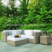 Pop outdoor garden furniture Wicker Sofa set