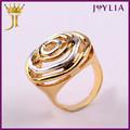 profesional fábrica de joyería de cristal de suministro de arranque del engranaje del anillo