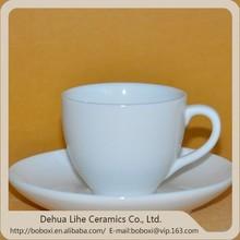 customized promotion porcelain ceramic espresso coffee cup and saucer set ceramic tea cup set