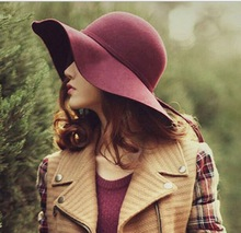 High quality woman wool felt hat,wool hat,women hat HA1-012