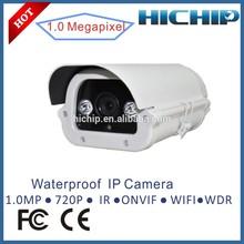 Hichip waterproof outdoor onvif wifi IP Camera with low cost