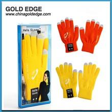 Hello glove wiress handset bluetooth gloves bluetooth gloves for promotion gift