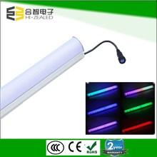 Colorful led digital tube,led guardrail tube, waterproof rgb led tube ip66