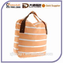 2015 High Quality Reusable Canvas Tote Shopping Bag Travel Bag