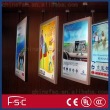 Aluminum frame luminous advertisement board