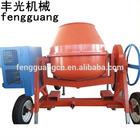 300L gasoline engine concrete mixer drum