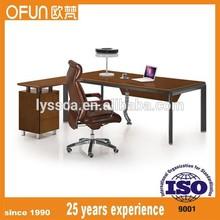 commercial modern high gloss office executive desk