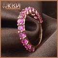 China atacado jóias de prata KISVI 925 anel de prata esterlina com rosa Zircon