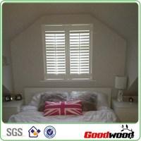 Custom Interior PVC Shutter Window from china