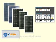 High Efiiciency Competitive price CSUN 300W polycrystalline Solar Panel