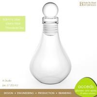 Borosilicate Glass Novelty HandBlown Bottle for Bulk Liquor