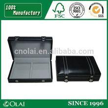 Hot sales deluxe plastic leather pen case