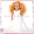 adora atacado vestido da boneca oem 18 polegadas vestido de festa para bonecas