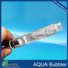 The popular watering filtering vaporizer aqua bubbler pipes for sale / glass globe wax vaporizer pen kit