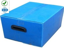 Foldable PP Plastic Boxes In Polypropylene/Plastic boxes with Dividers
