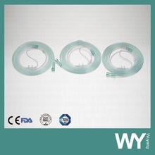 Medical Types of Green Colored Oxygen Cannula
