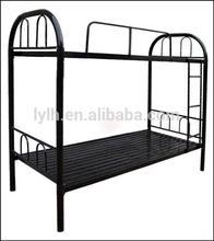 metal cheap dorm bunk bed for sale/steel bed design furniture