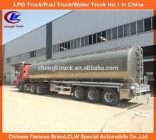 Europe Standard 3 axle stainless steel Jet A1 tanker semi-trailer