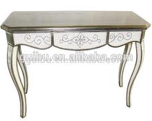 white diamond acrylic console table for interior decoration