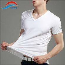 Tempy slim fit blank t-shirt bulk blank plain t-shirts
