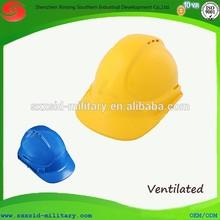 2014 hot protective helmet industrial worker ventilated safety helmet with CE EN 397