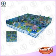 new design children soft wood plastic balls inflatable used kids indoor playground equipment for sale