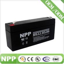 6v3.3ah pakistan agm ups battery for inverters