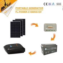 Manufacturer new product 1kW high efficiency off grid pv complete home project solar panel system