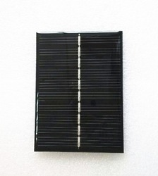 High efficiency customized 6V 200mA 110*80mm 1.2W low price mini epoxy resign solar panel for solar led lights