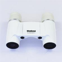 7x18 High Power Antique Fixed Focus Binoculars