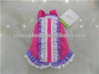 Factory wholesale pet clothing dog dress pet clothes spring and summer petals trade brand tutu dress