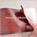 Pvc flexível auto-adesivo decorativo folhas de plástico pvc para móveis revestimento
