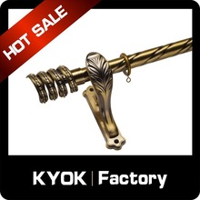 KYOK double curtain rod & curtain rod accessories factory, electric curtain track,bendable curtain track