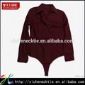 2015 100% algodão moda casual camisas manga longa para as mulheres