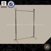 metal hanging display racks/cloth rack shop fittings for online store