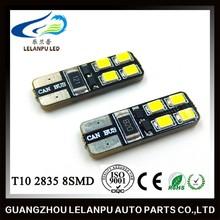 12v led interior lights 2835 8SMD canbus t10