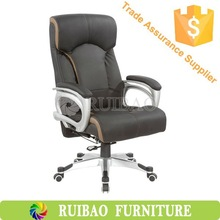 Leather Chair Executive Office Chair ,Manager Office Chair(High Back And Good Workmanship ) Can Load Heavy Weight People