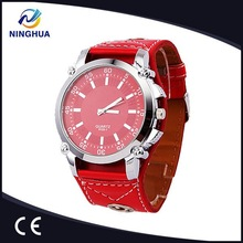 Classic Round Dial Simple Sports Design Women's Fashion Watch