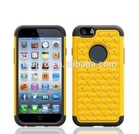 New Chrome Bling Diamond Back Case for iPhone 6 5.5