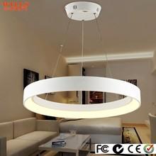 Contemporary Circular led pendant lighting for livingroom