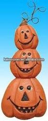 Hand made craft resin pumpkins