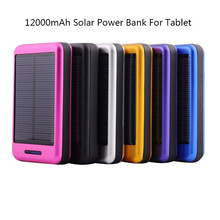Portable mobile phone solar charger for 2015 new products 12000mah solar charger