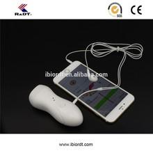 Handheld audio convert cable fetal dopplers