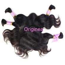 Fashionable Promotional Bulk Human Hair Extensions