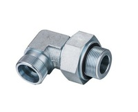 Carbon steel 90 degree elbow adjustable tube fittings